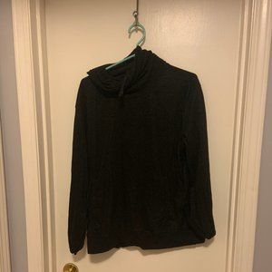 H&M cowl neck sweatshirt with front pocket